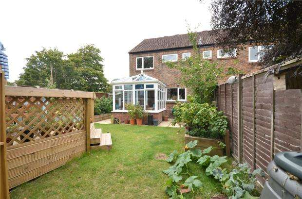 3 Bedrooms End Of Terrace House for sale in Copland Close, Basingstoke, Hampshire