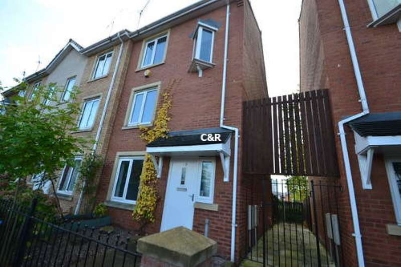 4 Bedrooms End Of Terrace House for rent in Sadler Court, Hulme, Manchester, M15 5RP