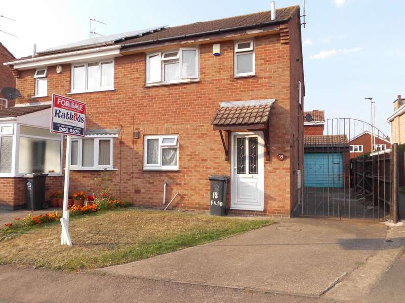 3 Bedrooms Semi Detached House for sale in Faldo Close, Leicester, LE4