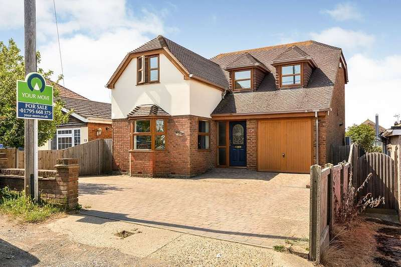 4 Bedrooms Detached House for sale in Waverley Avenue, Minster On Sea, Sheerness, ME12
