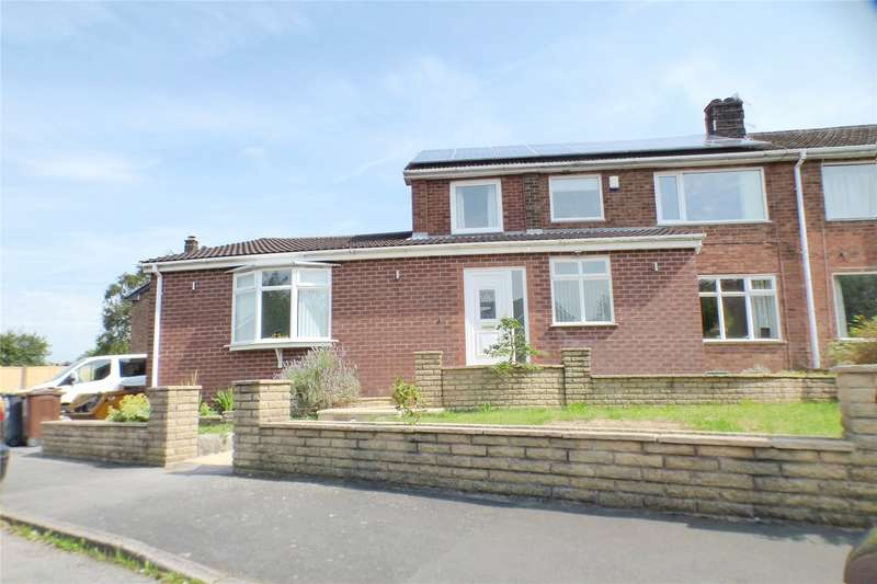 5 Bedrooms Semi Detached House for sale in Lower Barn Road, Hadfield, Glossop, SK13