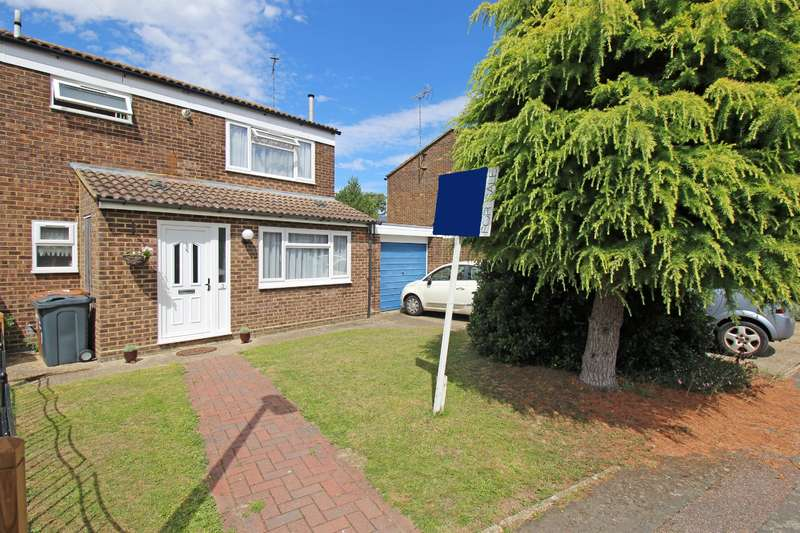 3 Bedrooms Semi Detached House for sale in Bawdsey Close, Stevenage, SG1 2LA