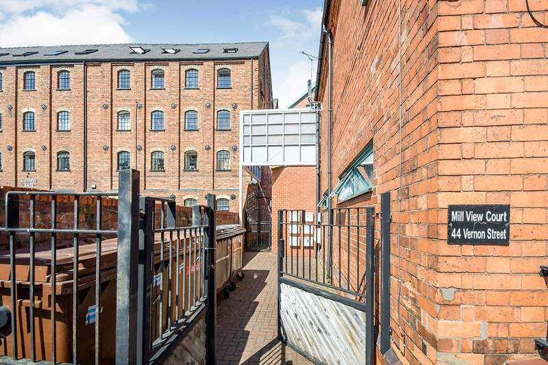2 Bedrooms Apartment Flat for sale in Mill View Court, Vernon Street, Lincoln, Lincolnshire, LN5