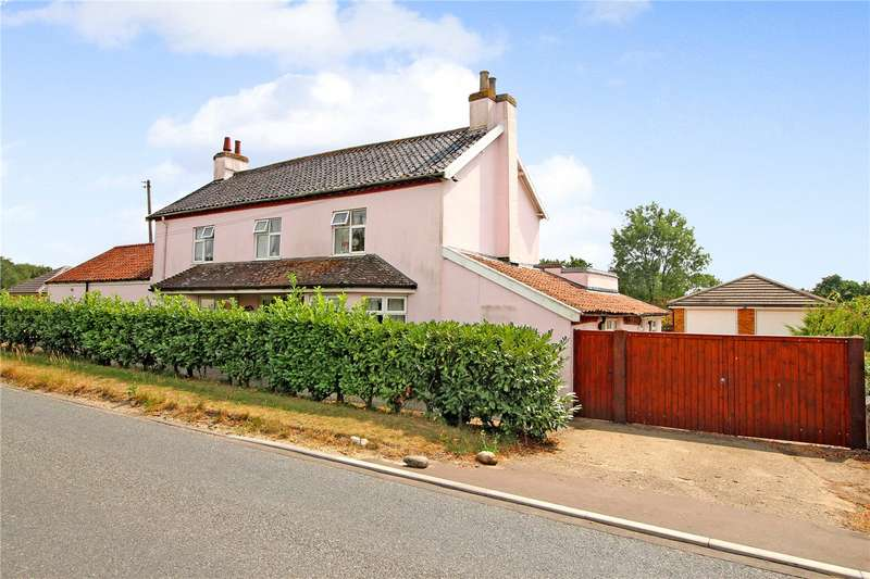 4 Bedrooms Detached House for sale in London Road, Suton, Wymondham, Norfolk, NR18