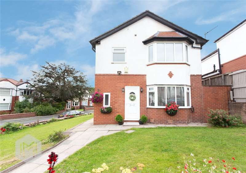 4 Bedrooms Detached House for sale in Craigwell Road, Prestwich, Manchester, Greater Manchester, M25