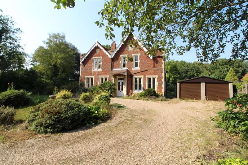 4 Bedrooms Detached House for sale in The Rectory, Brook Road, Great Tey, Colchester, CO6