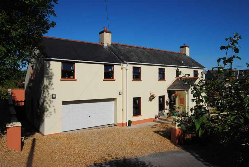 4 Bedrooms Detached House for sale in Swallows Rest, Upper Nash, NEAR PEMBROKE
