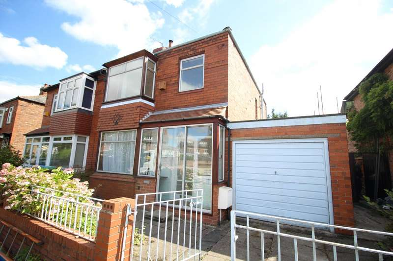 3 Bedrooms Semi Detached House for sale in Beaver Road, Manchester, M20