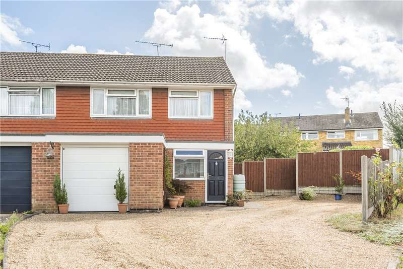3 Bedrooms End Of Terrace House for sale in Selwyn Drive, Yateley, GU46