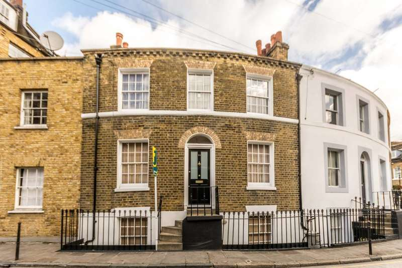 2 Bedrooms House for sale in Keystone Crescent, King's Cross, N1