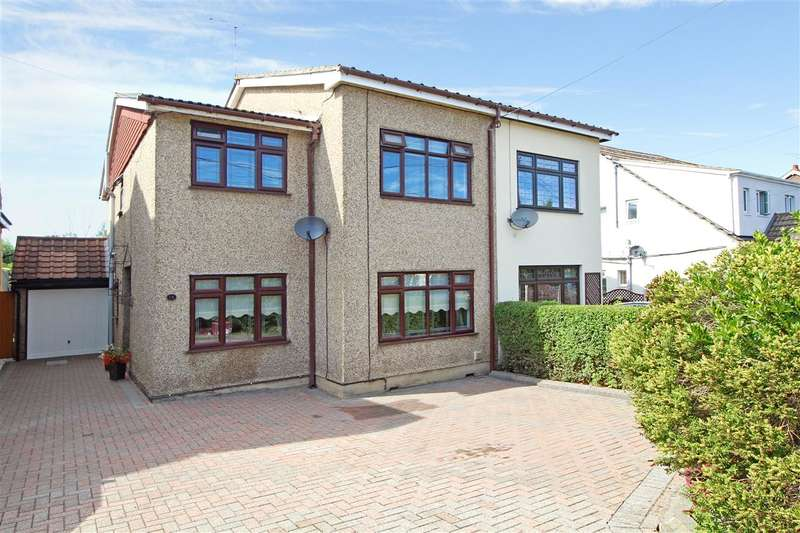 4 Bedrooms Semi Detached House for sale in Goodwood Avenue, Hutton, Brentwood