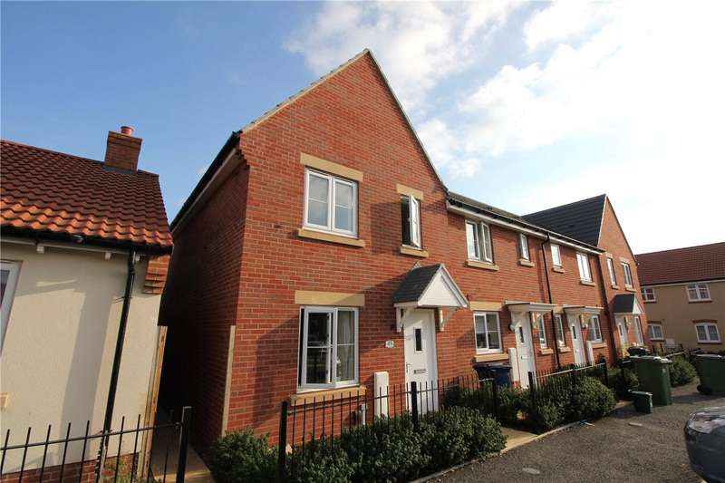 3 Bedrooms Semi Detached House for sale in Little Grebe Road, Bishops Cleeve, Cheltenham, GL52