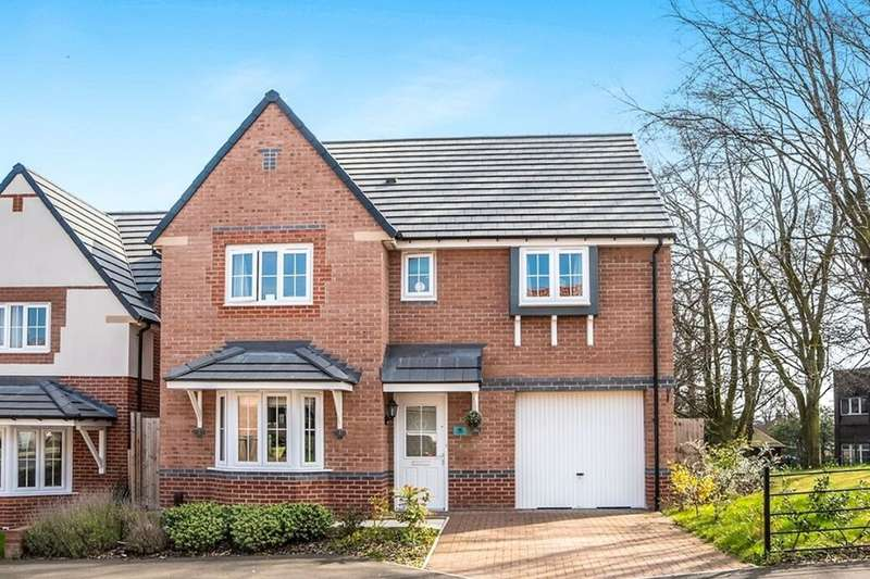 4 Bedrooms Detached House for sale in Lepidina Close, Scholars Wynd, Newcastle Upon Tyne, NE15