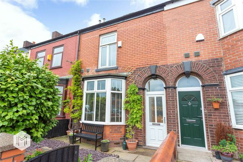 3 Bedrooms Terraced House for sale in Bolton Road, Kearsley, Bolton, Greater Manchester, BL4