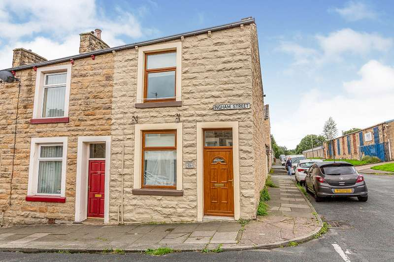 2 Bedrooms House for sale in Ingham Street, Padiham, Burnley, Lancashire, BB12