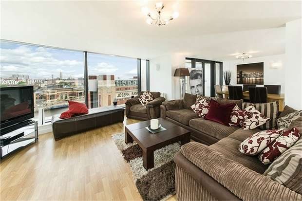3 Bedrooms Flat for rent in Baltic Quay LUXURY PENTHOUSE, Quayside, Newcastle, Tyne and Wear
