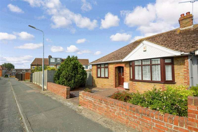 3 Bedrooms Semi Detached Bungalow for sale in Violet Avenue, Ramsgate, Kent