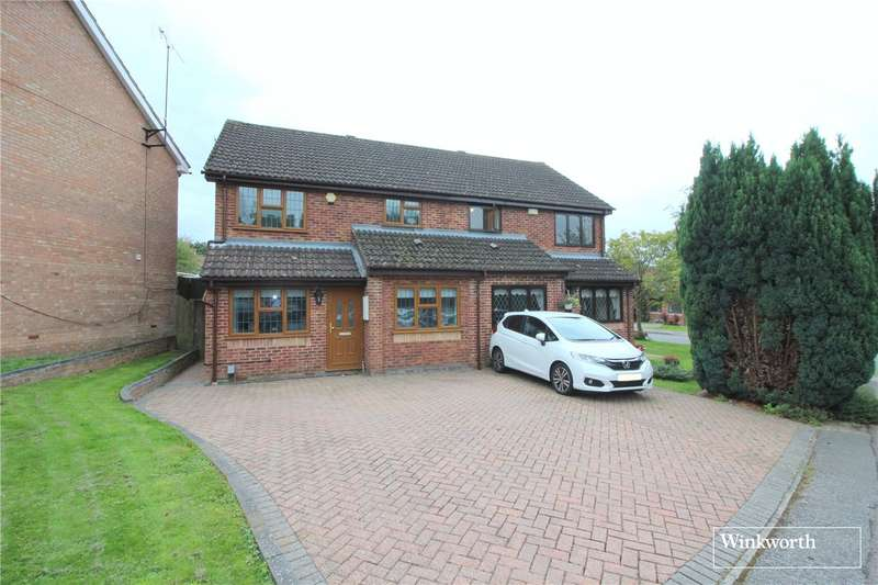 3 Bedrooms House for sale in Retford Close, Borehamwood, Hertfordshire, WD6