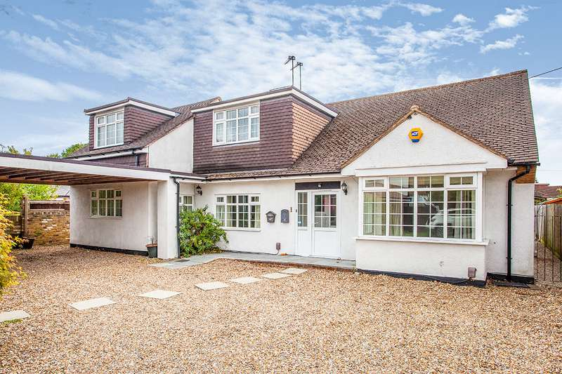 5 Bedrooms Detached Bungalow for sale in The Meads, Bricket Wood, St. Albans, Hertfordshire, AL2