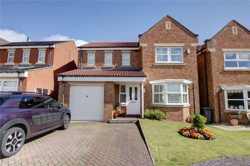 4 Bedrooms Detached House for sale in Millfield, Templetown, Consett, DH8