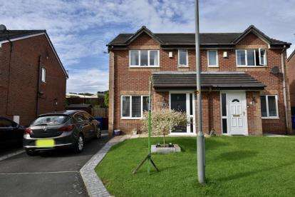 House for sale in Flowers Close, Blackburn, Lancashire.