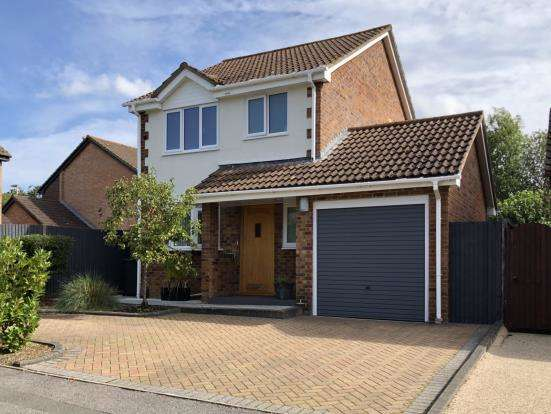 3 Bedrooms Detached House for sale in Chineham, Basingstoke, Hampshire