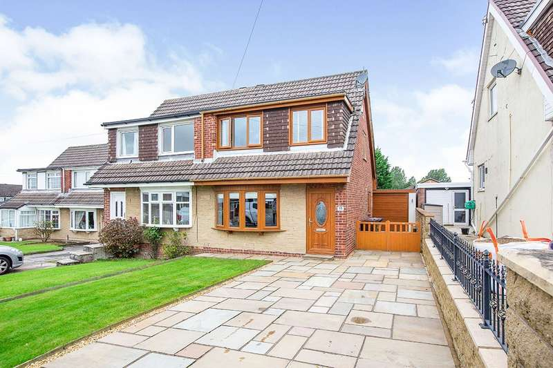 3 Bedrooms Semi Detached House for sale in Red Spar Road, Burnley, Lancashire, BB10
