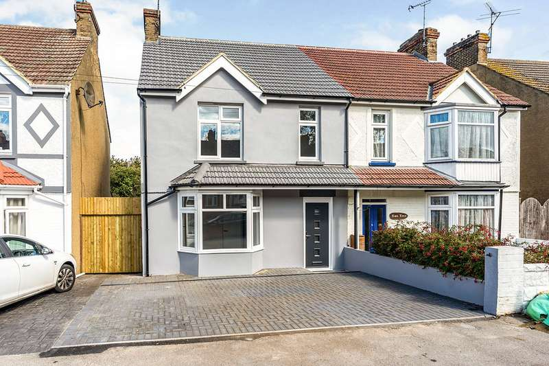 3 Bedrooms Semi Detached House for sale in Sturdee Avenue, Gillingham, Kent, ME7