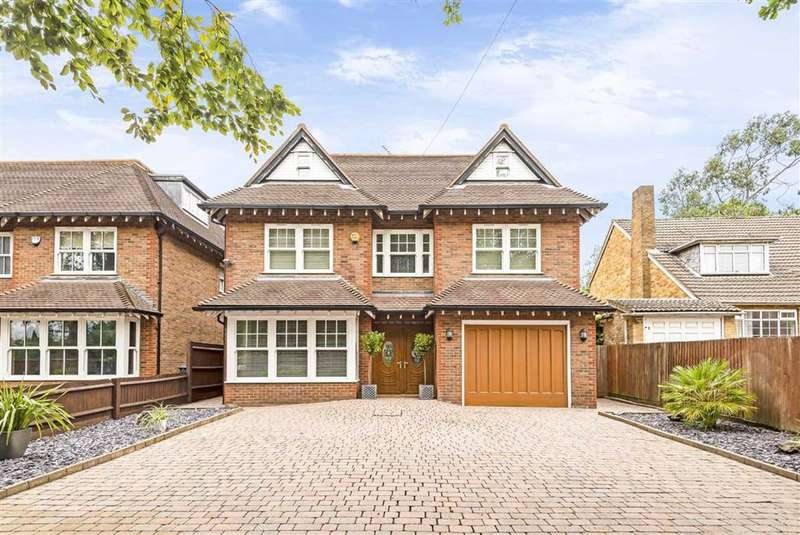5 Bedrooms Detached House for sale in Barnet Road, Arkley, Hertfordshire