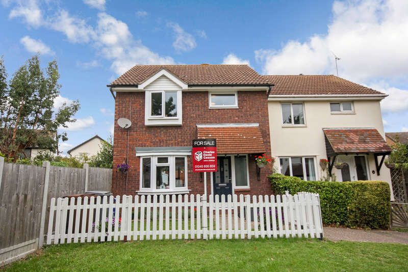 3 Bedrooms Semi Detached House for sale in Aldridge Close, Chelmer Village
