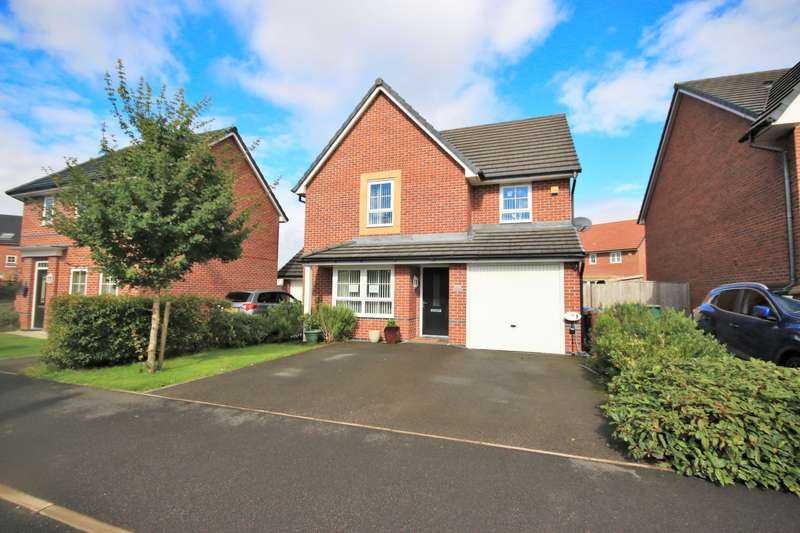 4 Bedrooms Detached House for sale in Findley Cook Road, Highfield, Wigan, WN3 6GJ