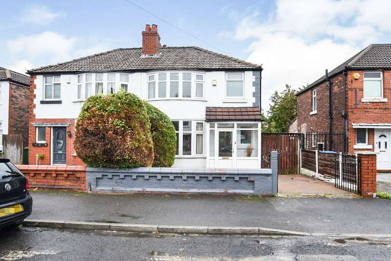 3 Bedrooms Semi Detached House for sale in Delacourt Road, Manchester, Greater Manchester, M14
