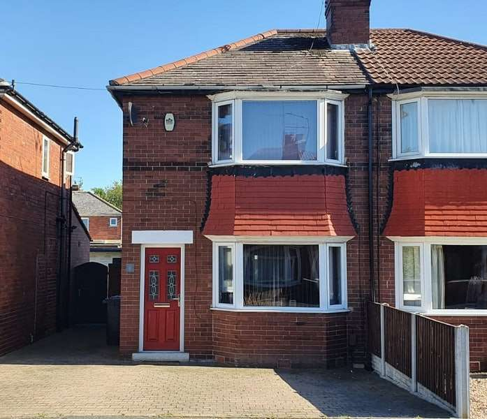 2 Bedrooms Semi Detached House for sale in Newbold Terrace, Doncaster, South Yorkshire, DN5