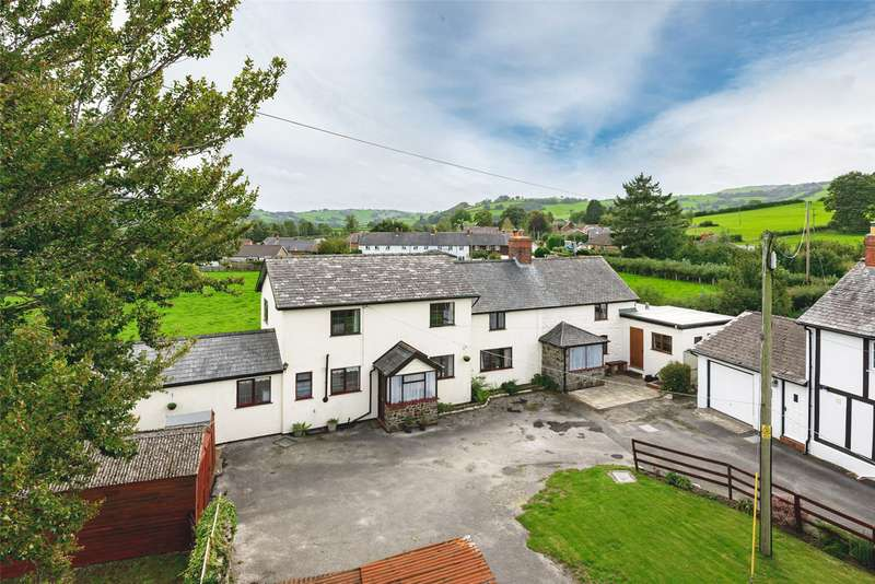 4 Bedrooms Semi Detached House for sale in Trefeglwys, Caersws, Powys, SY17 5QE
