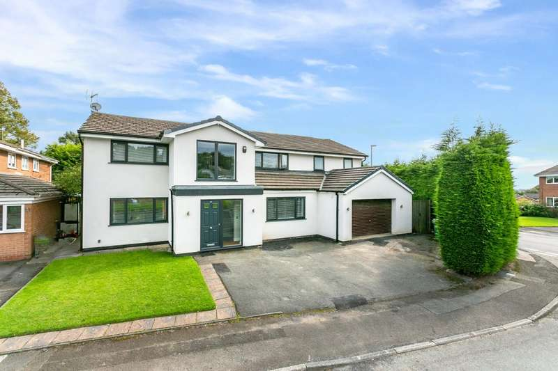 5 Bedrooms Detached House for sale in Sergeants Lane, Whitefield, Manchester
