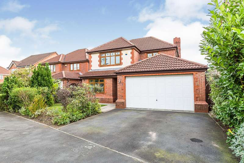 4 Bedrooms Detached House for sale in Holland House Road, Walton-le-Dale, Preston, PR5