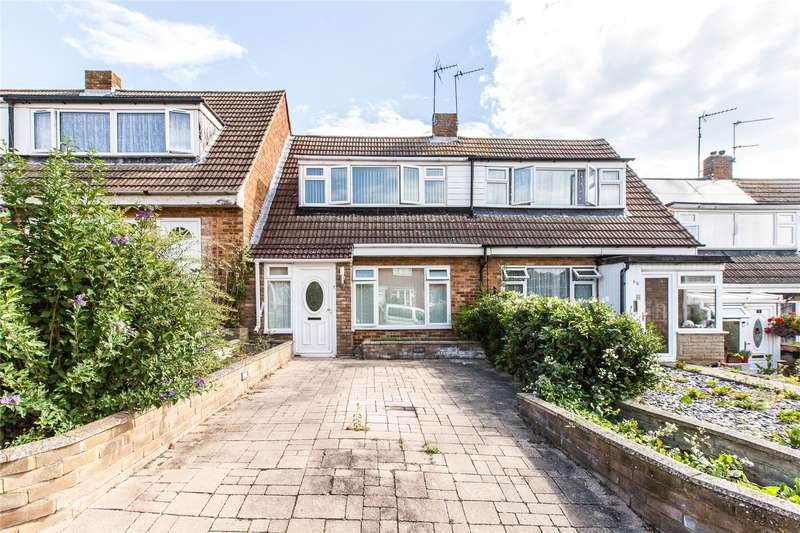 2 Bedrooms Terraced House for sale in Rushdean Road, Rochester, Kent, ME2