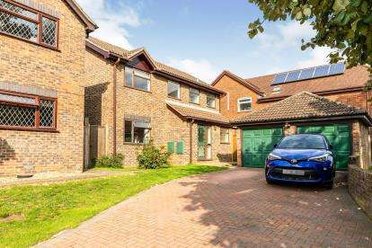 4 Bedrooms Detached House for sale in Boswell Gardens, Stevenage, Hertfordshire, England