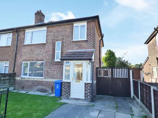 4 Bedrooms Semi Detached House for sale in Leyburn Avenue, Manchester, Greater Manchester, M41 6HL