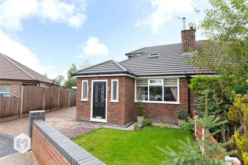 3 Bedrooms Semi Detached Bungalow for sale in Newquay Avenue, Ainsworth, Bolton, BL2