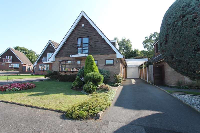 3 Bedrooms Detached House for sale in Ridgewood Avenue, Wollaston, Stourbridge, DY8