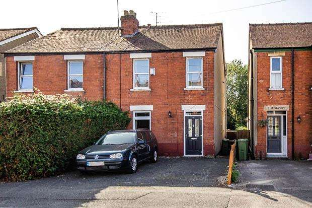 3 Bedrooms Semi Detached House for sale in 23 Cromwell Road, Cheltenham, GL52 5DN