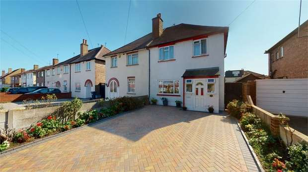 3 Bedrooms Semi Detached House for sale in Pears Road, Hounslow, Middlesex