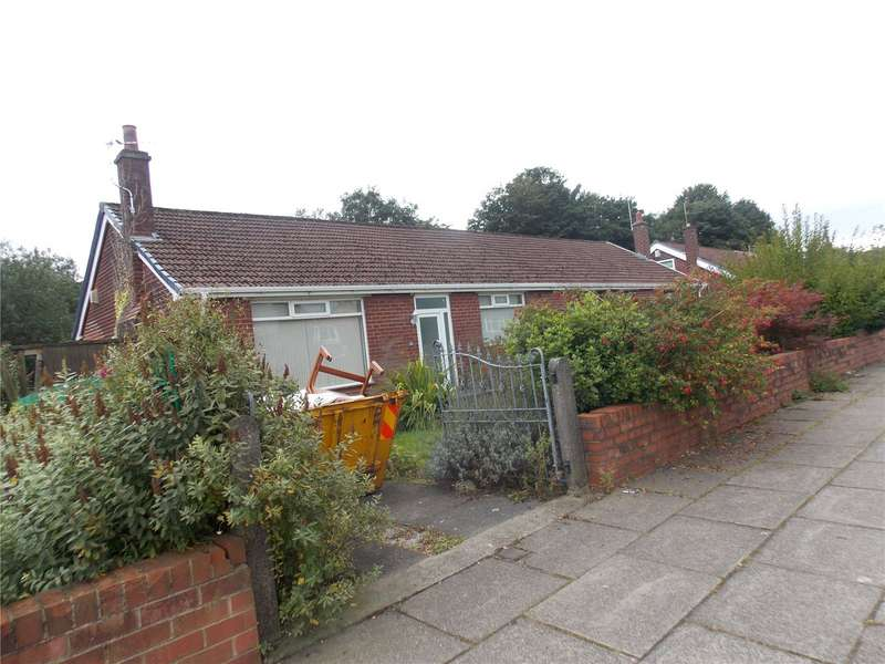 2 Bedrooms Semi Detached Bungalow for sale in Bishops Road, Bolton, Greater Manchester, BL3