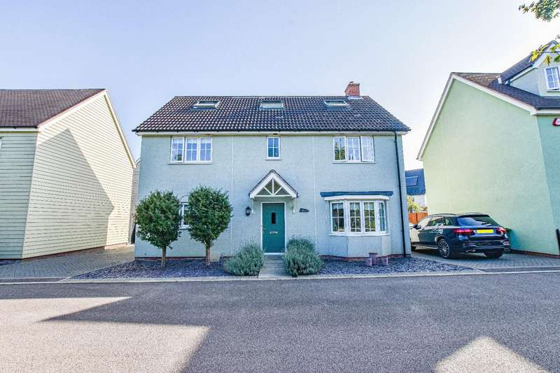 5 Bedrooms Detached House for sale in Marshalls Way, Little Canfield, Dunmow