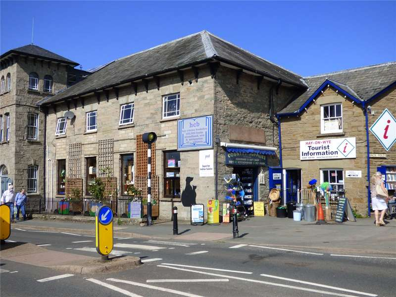 Retail Property (high Street) Commercial for sale in Oxford Road, Hay-On-Wye, Hereford, Powys, HR3 5AJ