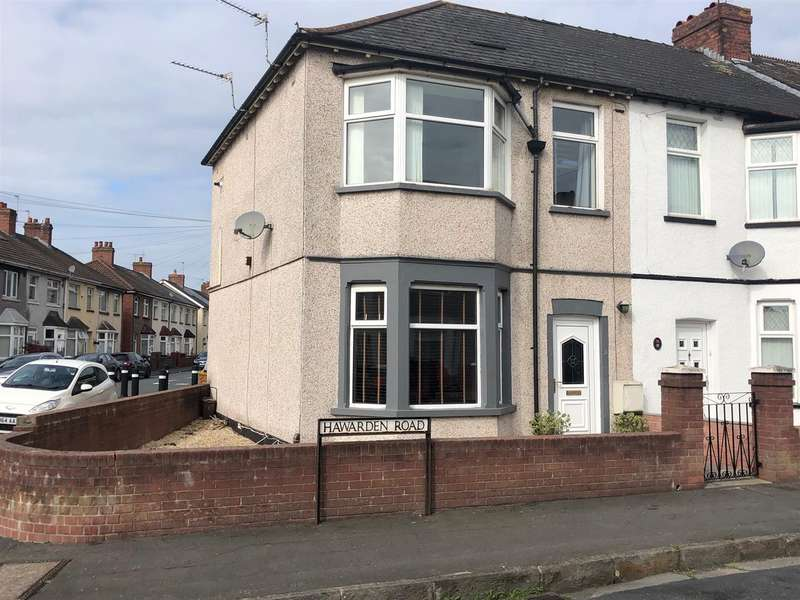 3 Bedrooms End Of Terrace House for sale in Hawarden Road, Newport