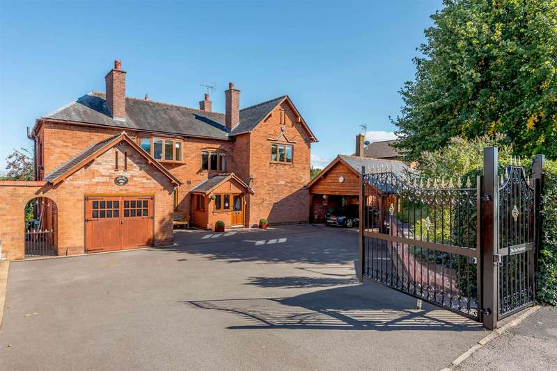 5 Bedrooms Detached House for sale in Golf Lane, Whitnash, Leamington Spa, Warwickshire