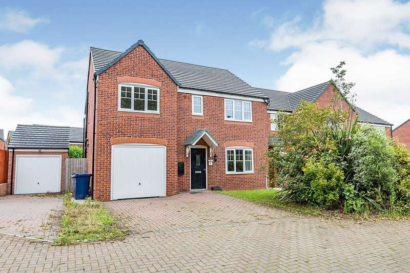 5 Bedrooms Detached House for sale in Cottonwood Close, Bamber Bridge, Preston, PR5