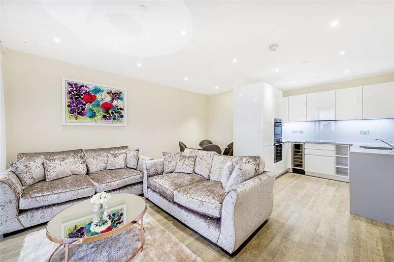 2 Bedrooms Flat for rent in Collet House, Nine Elms Point, Nine Elms, SW8